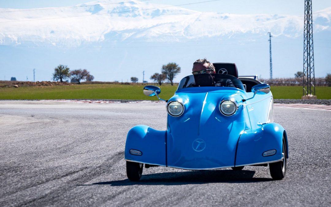De Messerschmitt Kabinenroller ist wieder da! – Autoblog.nl