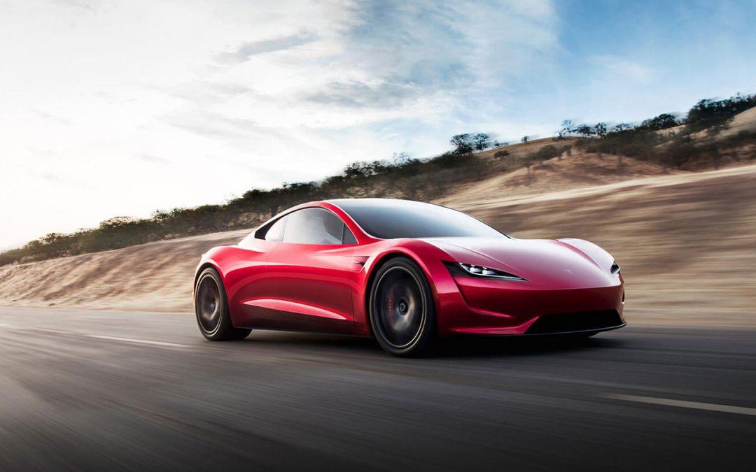 Tesla Roadster SpaceX doet straks 0-100 in 1,1 (!) seconde – Autoblog.nl
