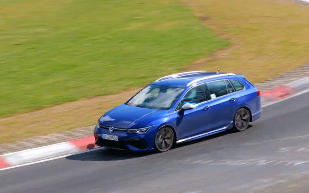 Volkswagen Golf 8 R Variant knalt over de 'Ring [video] – Autoblog.nl