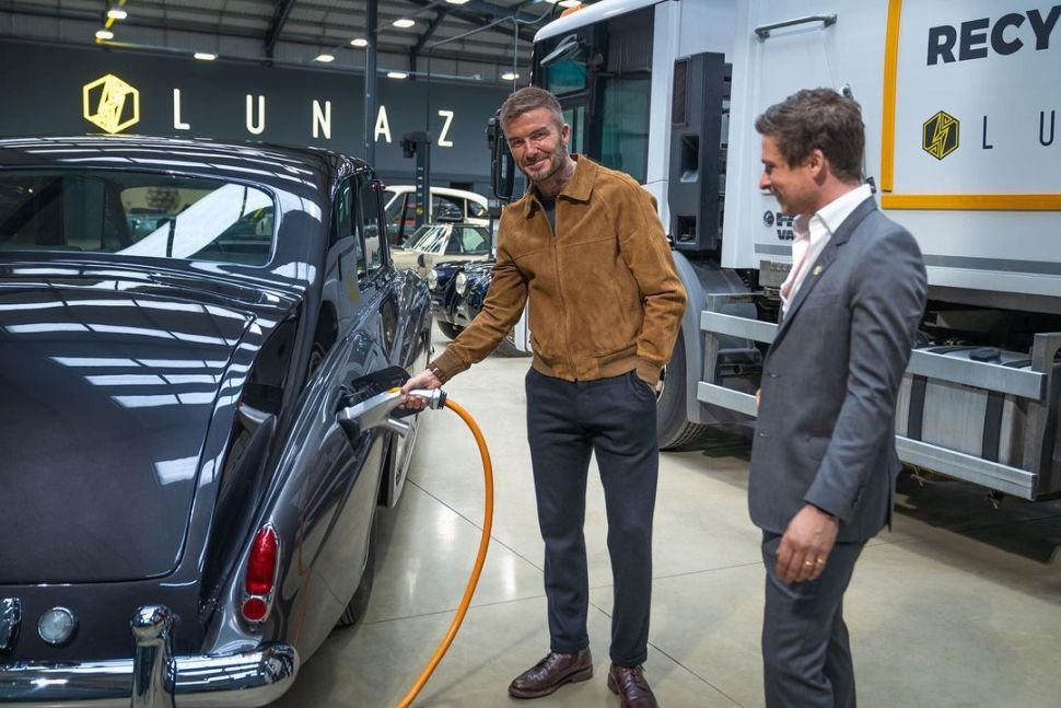 David Beckham geeft EV bouwer Lunaz een geldimpuls – Autoblog.nl