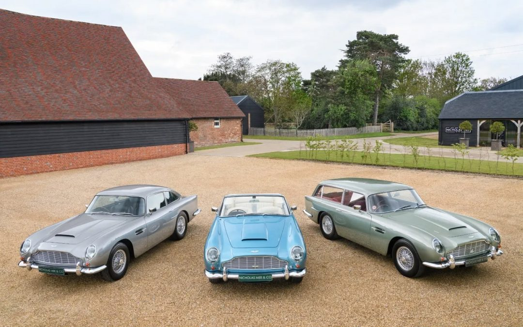 Te koop: het ideale Aston Martin DB5-trio – Autoblog.nl