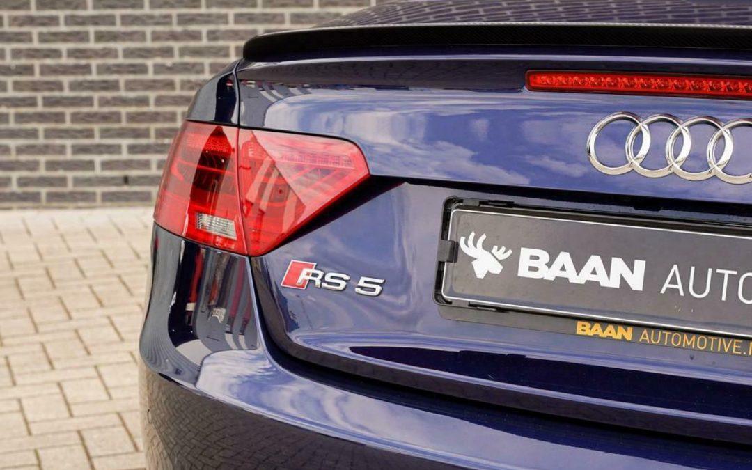 Deze blauwe RS5 Cabrio is niet de favoriete auto van Jaap – Autoblog.nl