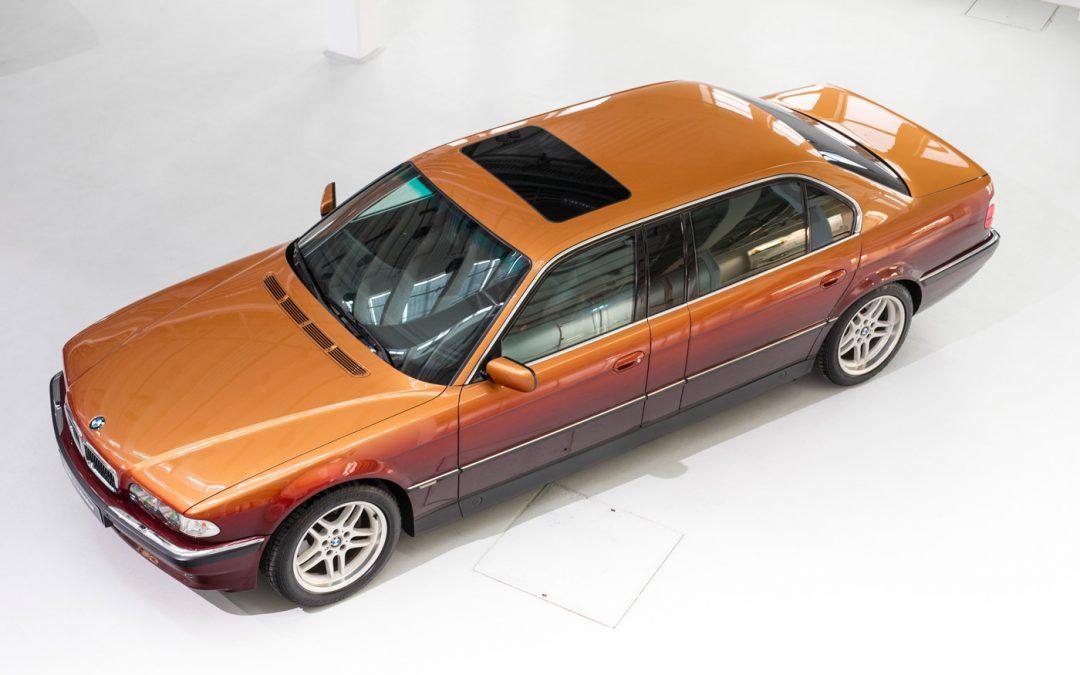 Deze unieke BMW E38 7 Serie is tegelijk kunst en kitsch – Autoblog.nl