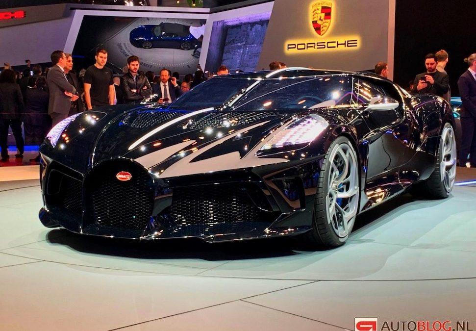 Bugatti heeft eindelijk een zwarte auto gemaakt – Autoblog.nl