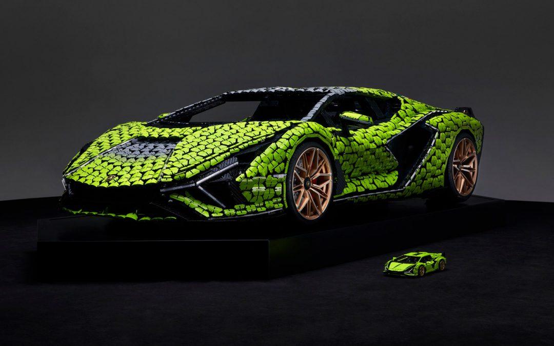 Deze LEGO Lamborghini Sián bestaat uit 400.000 stukjes – Autoblog.nl