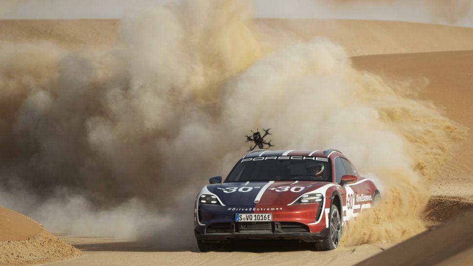 Porsche en dronepiloot maken een zeer toffe video – Autoblog.nl