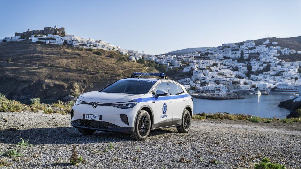 Volkswagen ID.4 als politieauto: ideetje voor Nederland? – Autoblog.nl