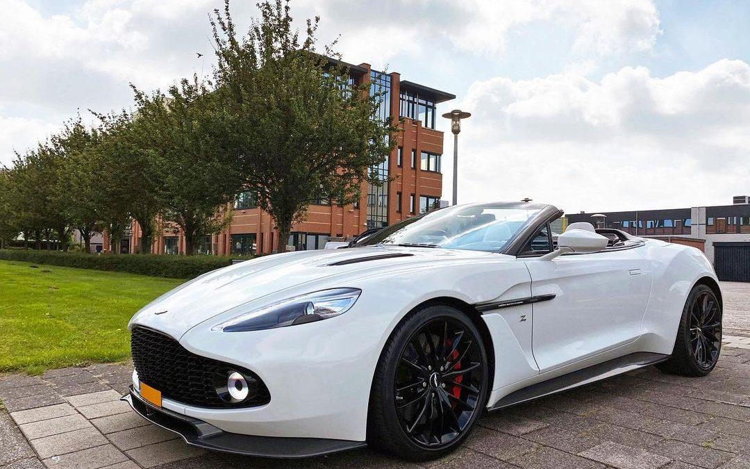 Nederlander koopt Aston Martin Vanquish van dik 8 ton