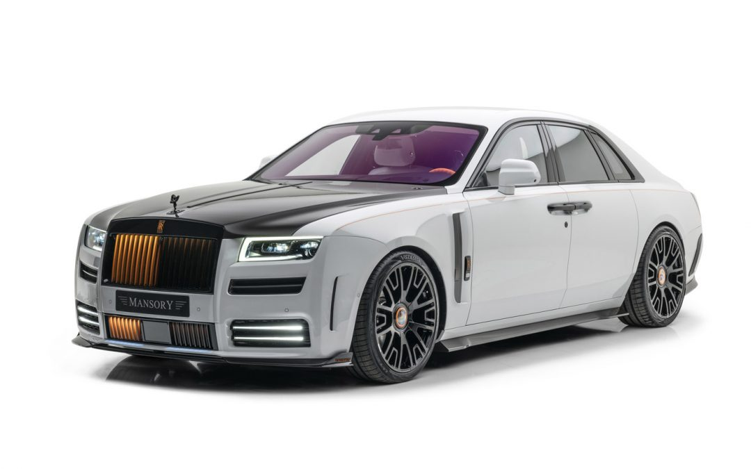 Mansory gaat nu écht los op de Rolls-Royce Ghost