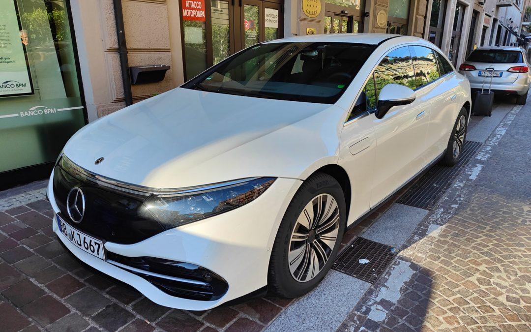 Gespot: de nieuwe Mercedes EQS in het wild – Autoblog.nl