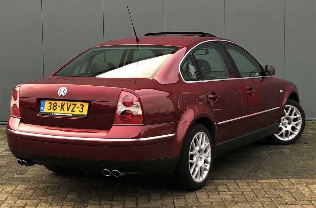 Koop deze Volkswagen Passat W8 voor een schijntje – Autoblog.nl