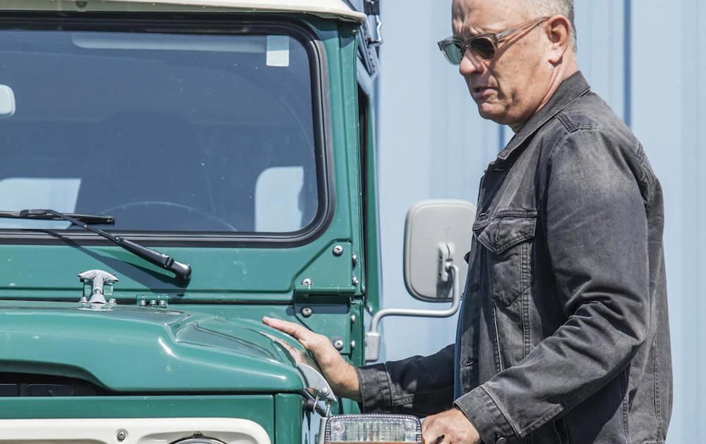 Help Tom Hanks van zijn oude Toyota af