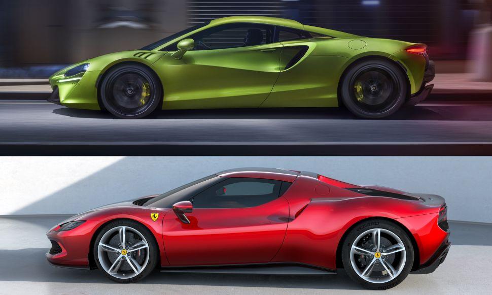 Waar ga jij voor: McLaren Artura of Ferrari 296 GTB? – Autoblog.nl