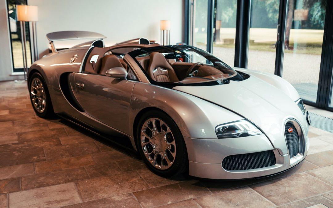 Eerste Bugatti met Okazielabel is klaar!