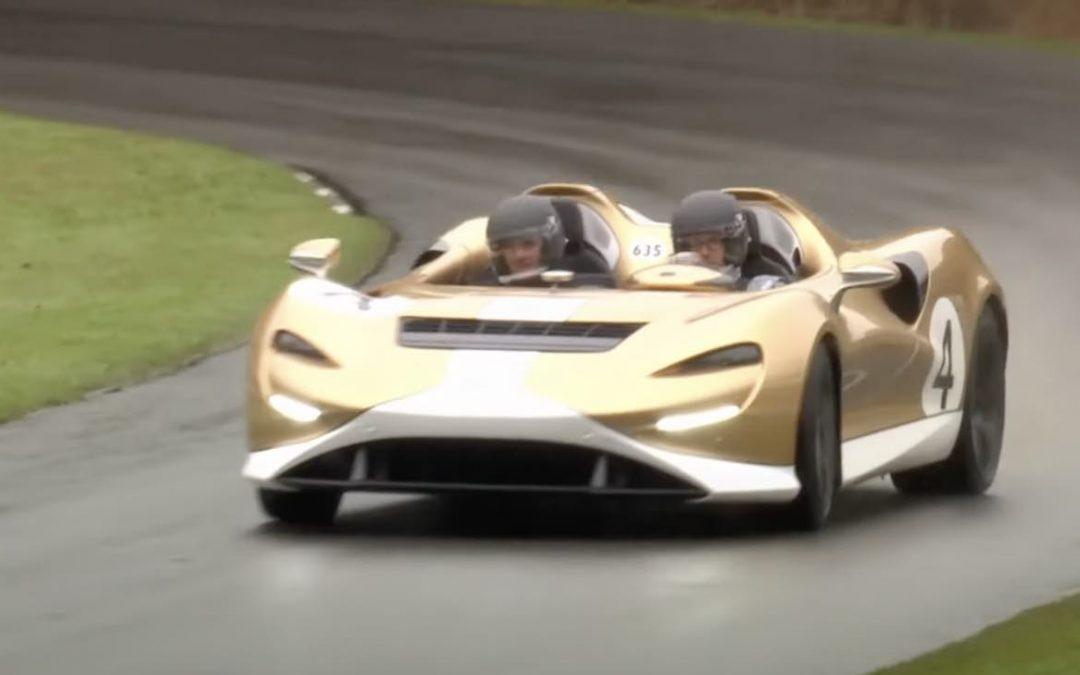 Video: glibberen en glijden met een McLaren Elva van 1 miljoen euro – Autoblog.nl