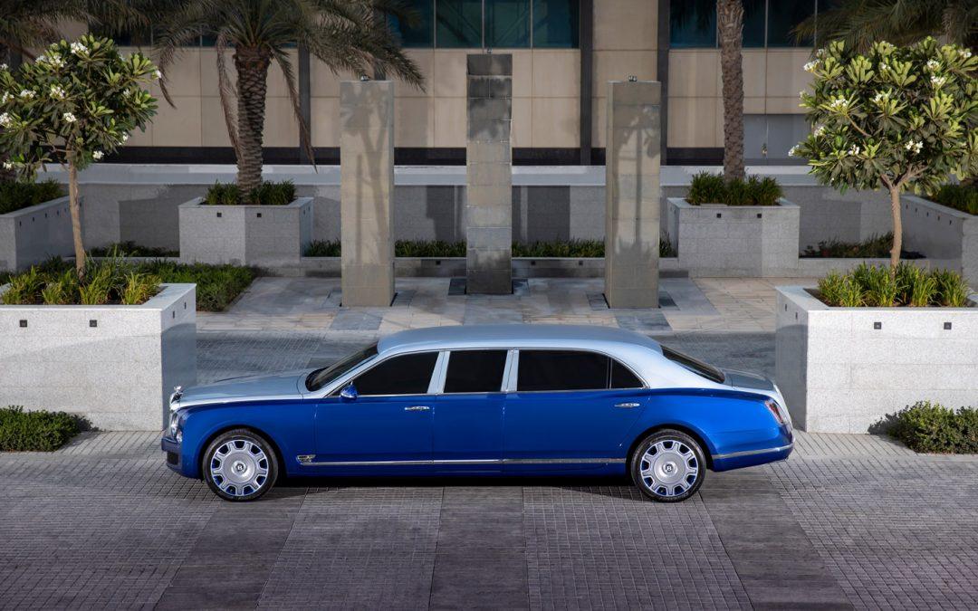Nog iemand interesse in dé ultieme Bentley?