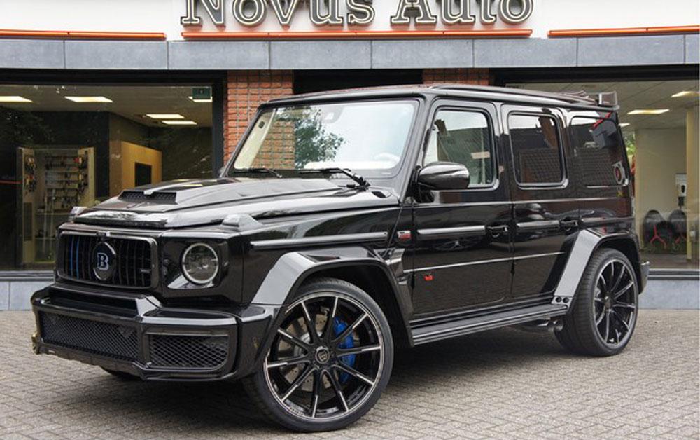 Deze G-klasse staat voor €1 miljoen (!) te koop in Nederland