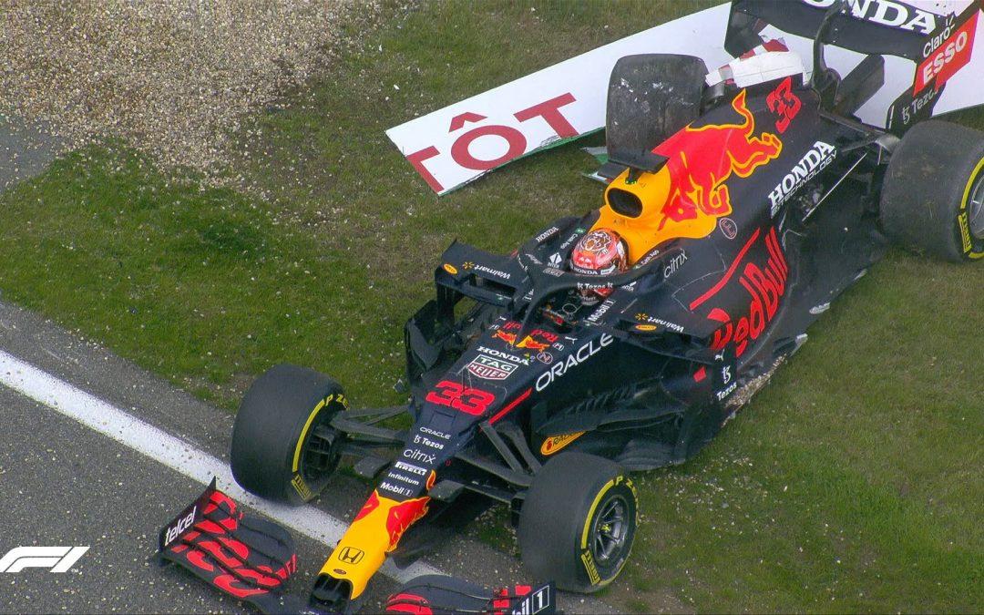 VT2 GP van België: Max crasht, wel snelste tijd