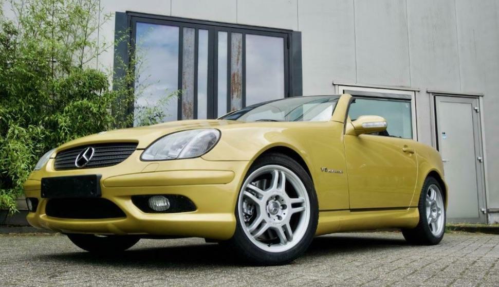 Dit is de goedkoopste Mercedes SLK32 AMG van Marktplaats