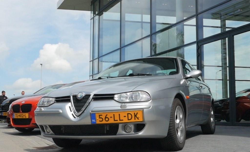 Mijn Auto: Alfa Romeo 156 2.5 V6 van Denian