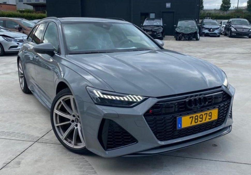 Scoor flinke korting op een gloednieuwe Audi RS6 occasion