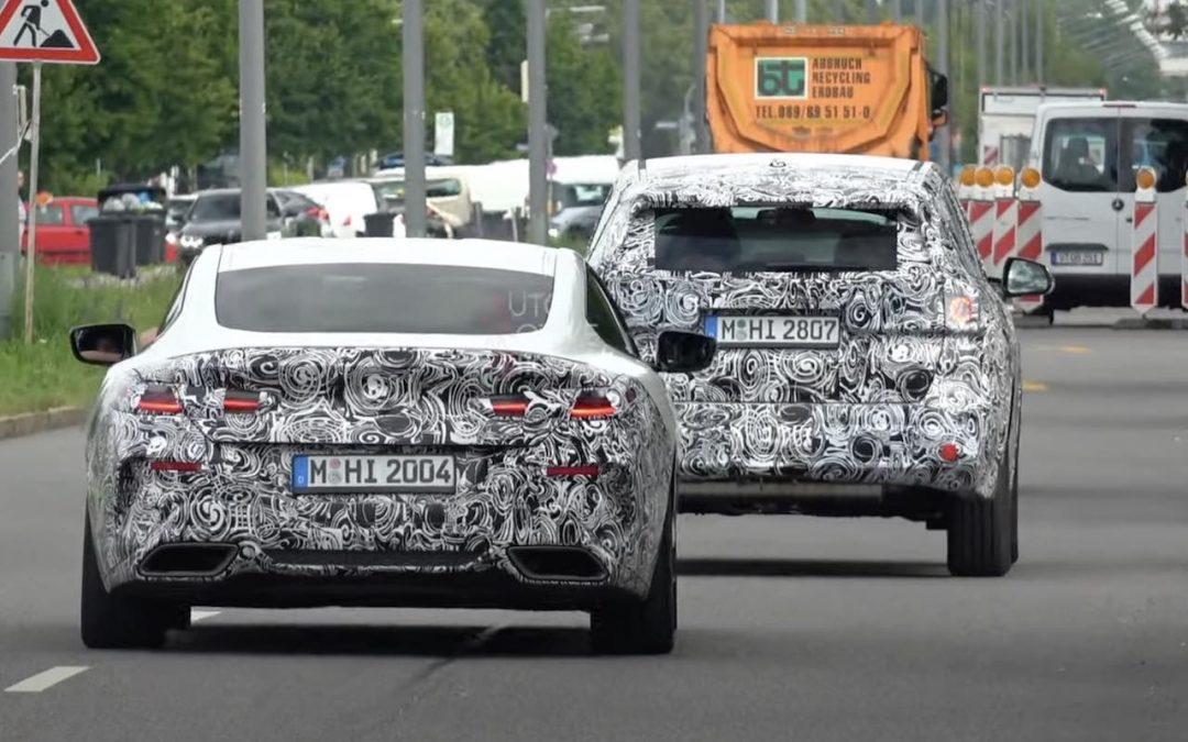 Video: de nieuwste BMW's gesnapt in München