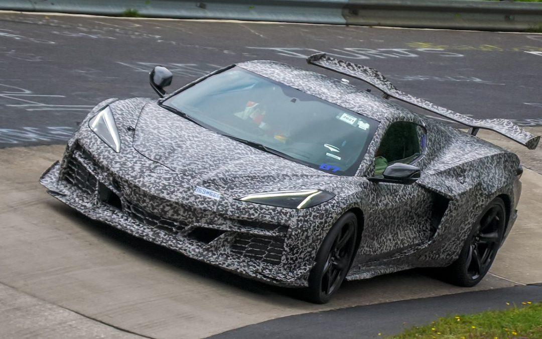 Video: Corvette C8 Z06 gespot op de Nürburgring!