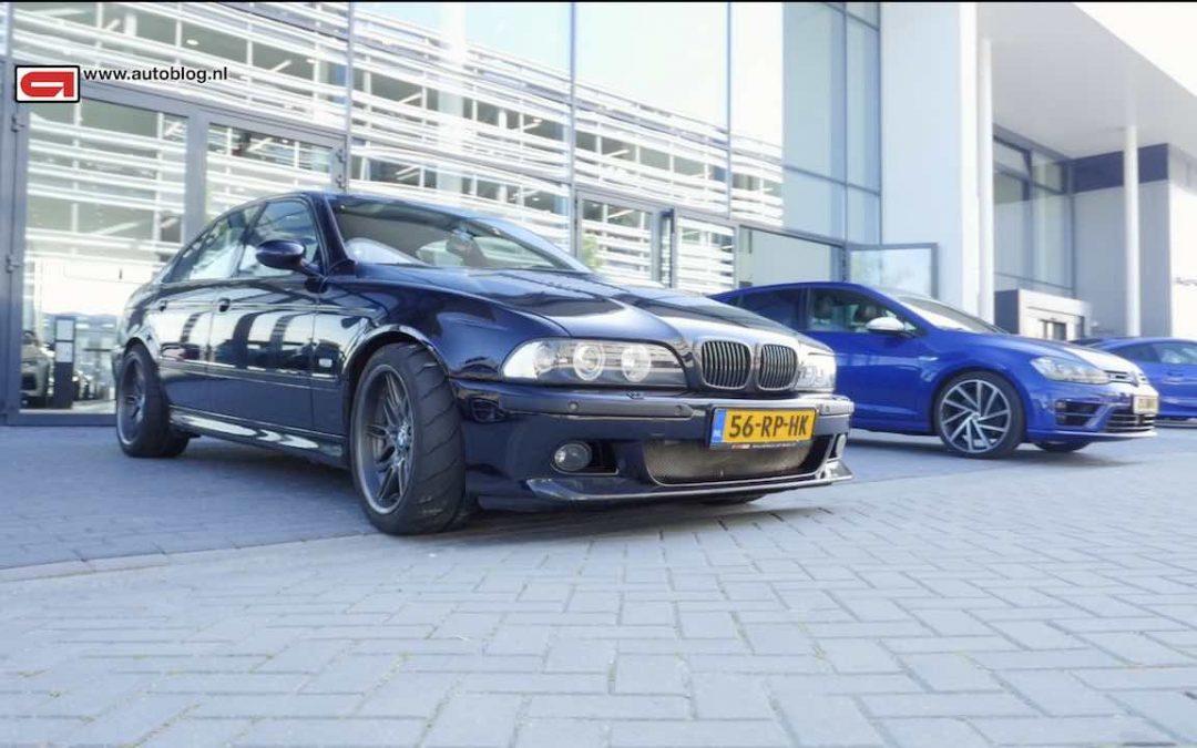 Mijn Auto: BMW E39 M5 (600 pk) van Adil