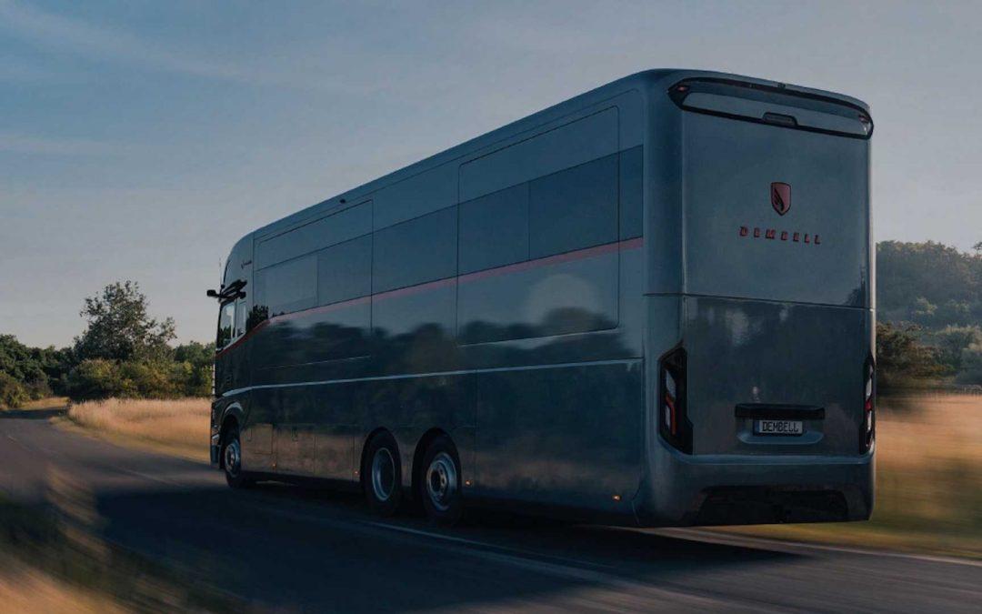 Extreem luxe camper kan een Ferrari Roma meenemen!