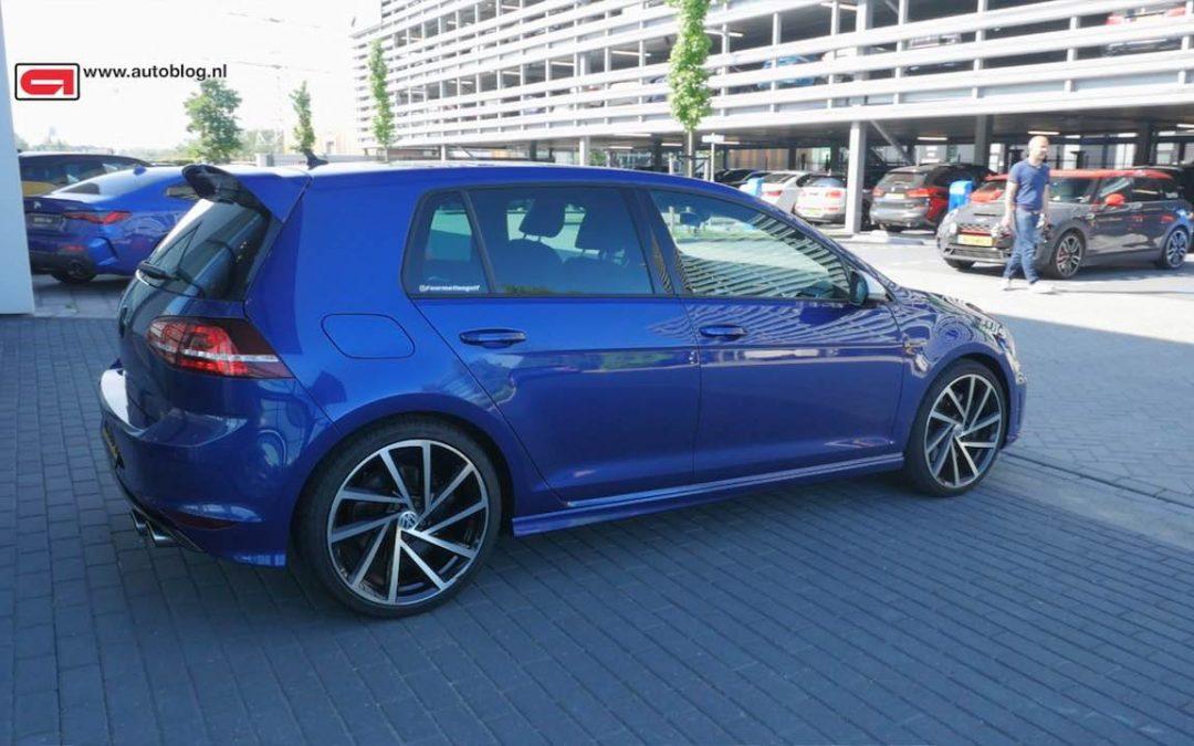 Mijn Auto: Volkswagen Golf 7R handbak van Daniel