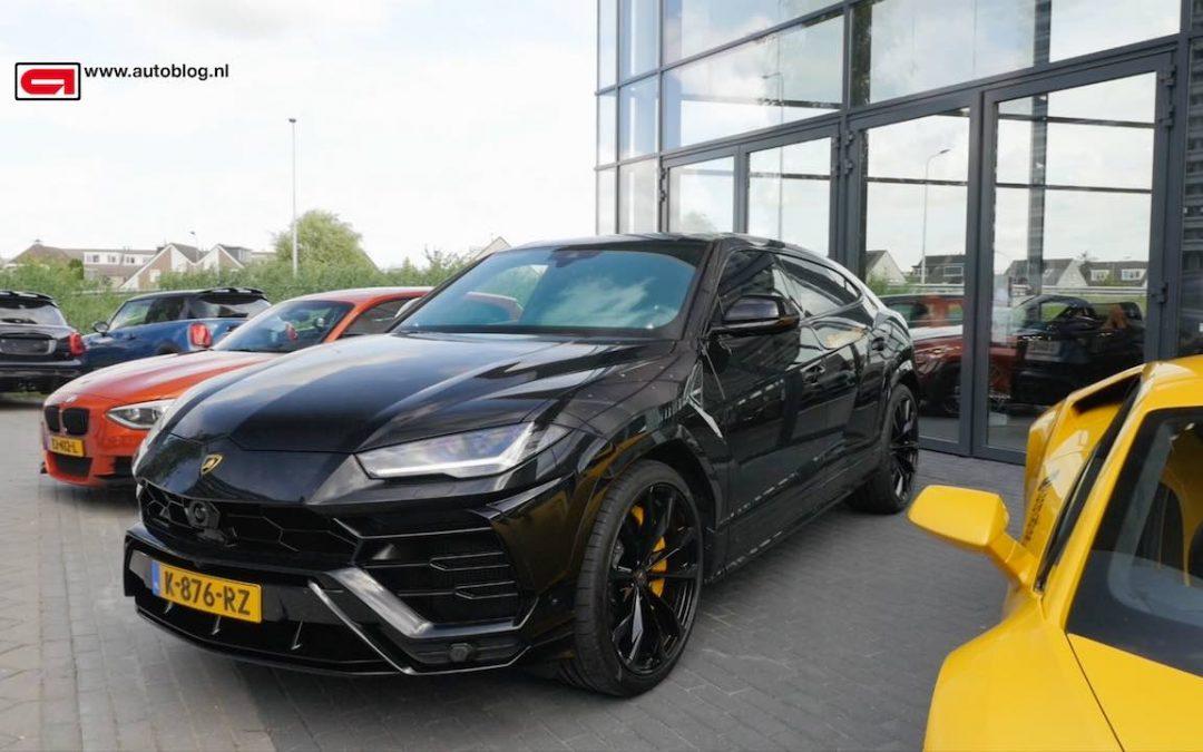 Mijn Auto: Lamborghini Urus van Elias