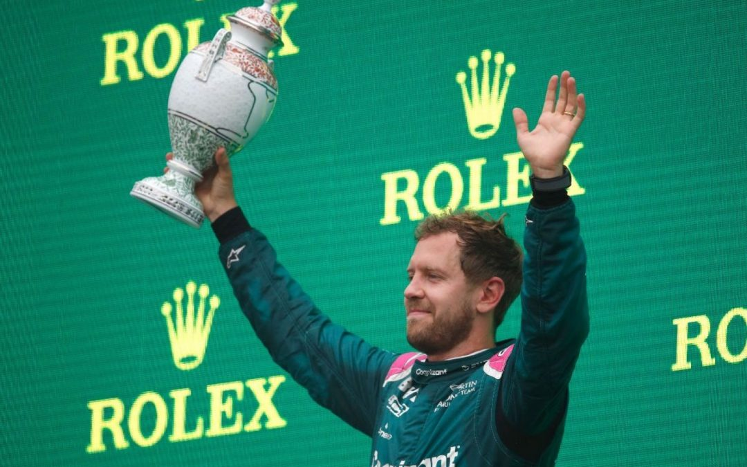 Aston Martin accepteert diskwalificatie Vettel