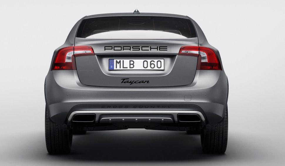 Nieuwe Porsche Taycan versie wordt een Volvo