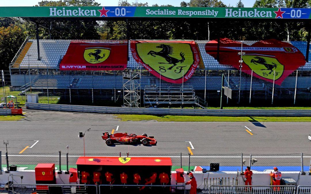 Kwalificatie Formule 1 sprintrace: GP van Italië
