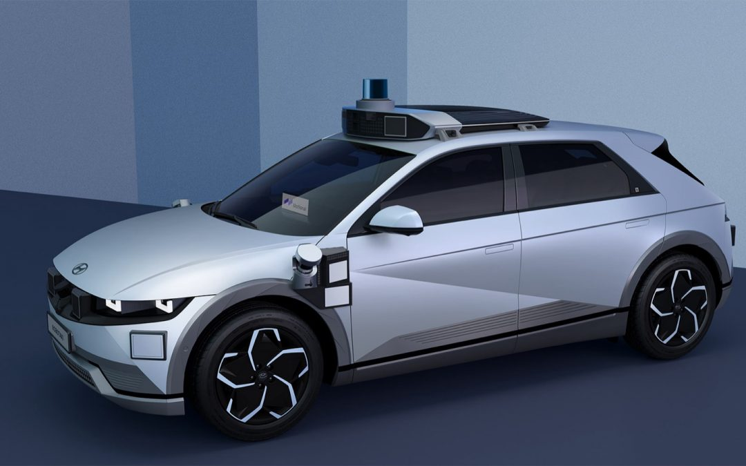 Hyundai Ioniq 5 robottaxi heeft menselijke helpdesk