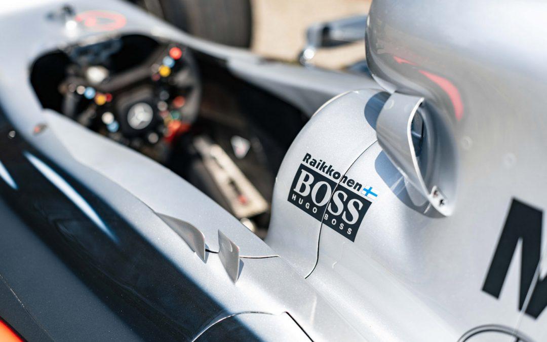 Koop deze F1-auto als aandenken aan Kimi Raikkonen