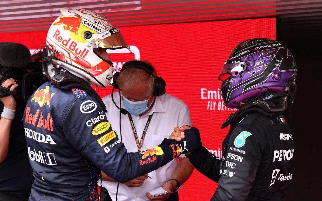 Video: Verstappen en Hamilton elimineren ELKAAR!