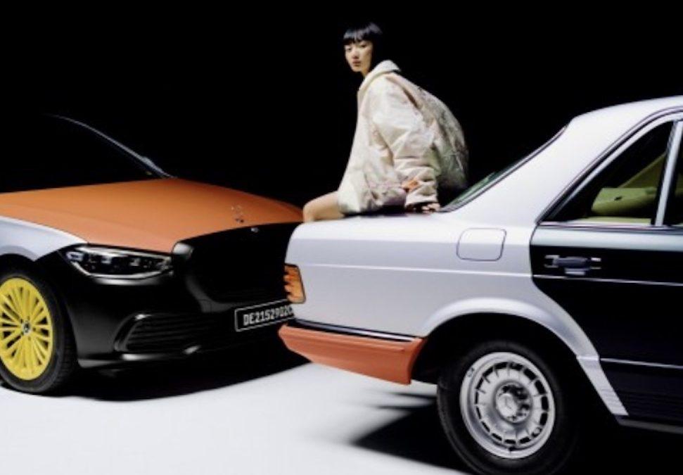 Mercedes maakt mode van oude luchtzakken