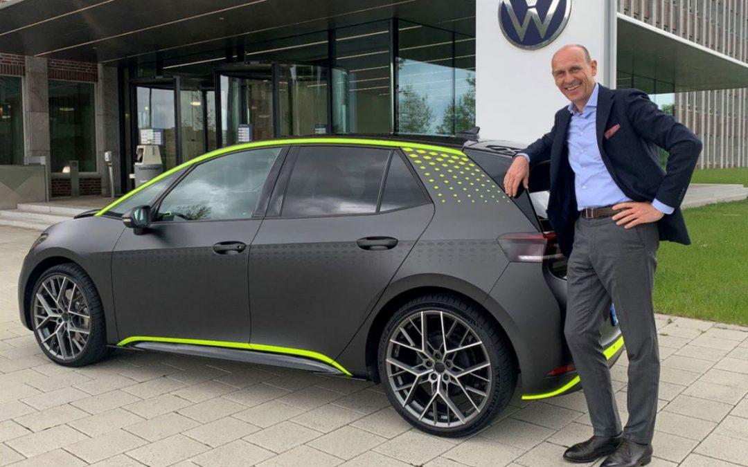 Elektrische 'hot hatch' van Volkswagen gaat in productie