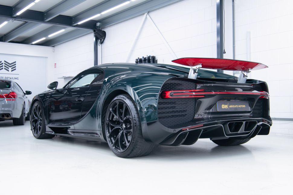 Tweede Bugatti Chiron occasion van de dag kost weinig munten