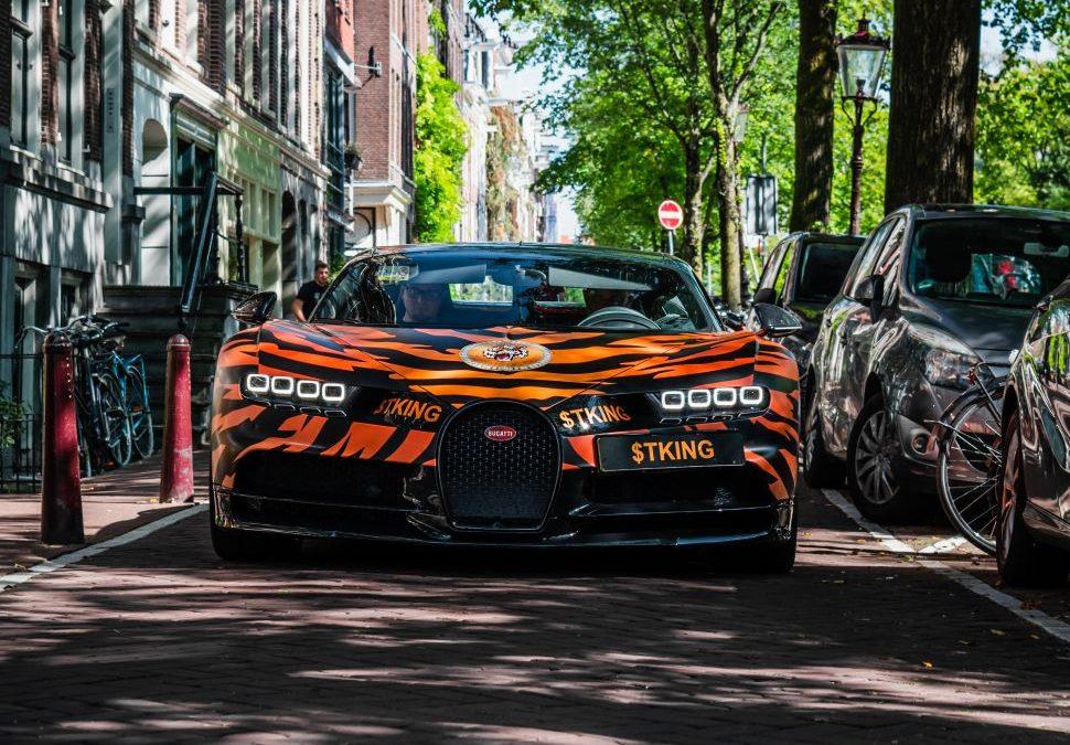 Nederlandse Bugatti Chiron is de koning der tijgers