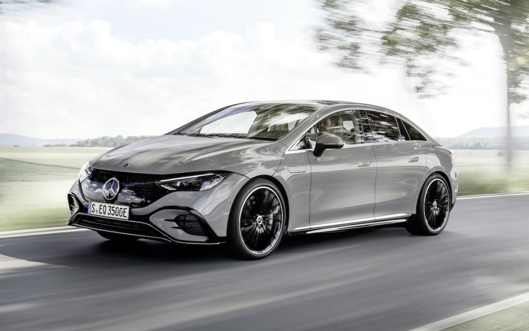 Mercedes EQE (E-Klasse) is helemaal officieel!