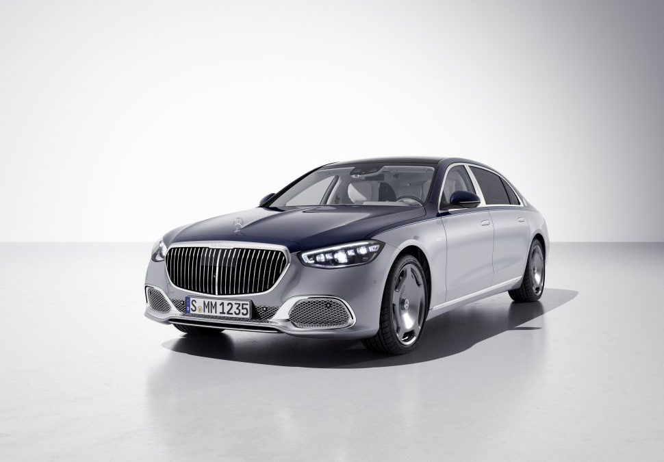 Maybach Edition 100 is extra luxueus