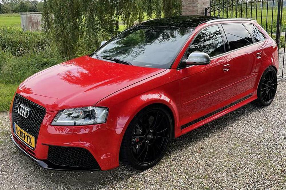 Koop deze Audi 'RS3' met zes cilinders en 800 pk