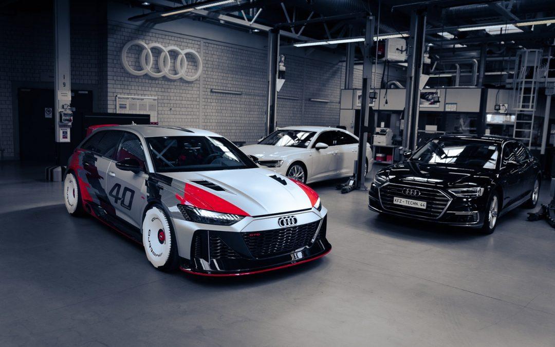 Gespot: de bruutste Audi RS6 die er is