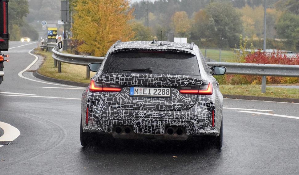 Video: BMW M3 Touring op de 'Ring