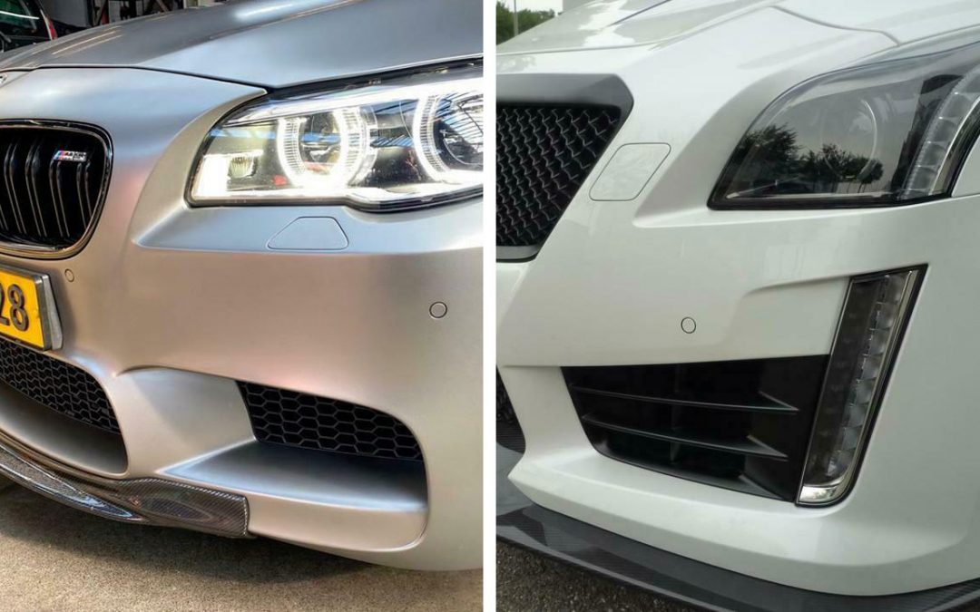 Kiezen maar: BMW M5 30 Jahre vs. Cadillac CTS-V