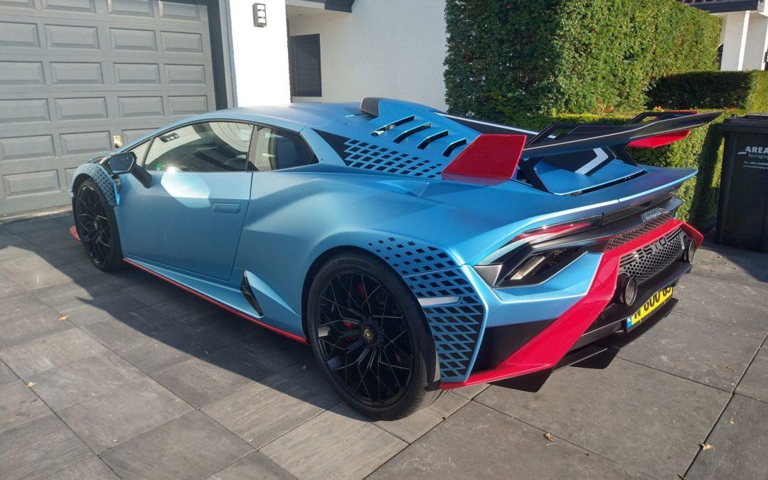 Gespot: de duurste Lamborghini Huracán van Nederland