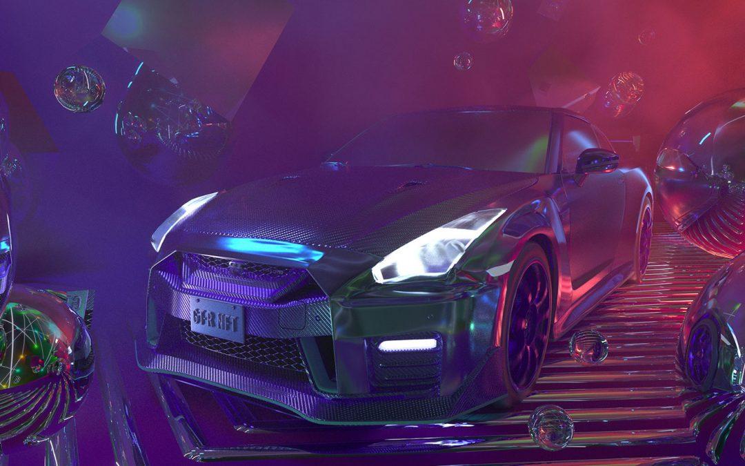 Iemand betaalde €2 miljoen (!) voor een digitale Nissan GT-R