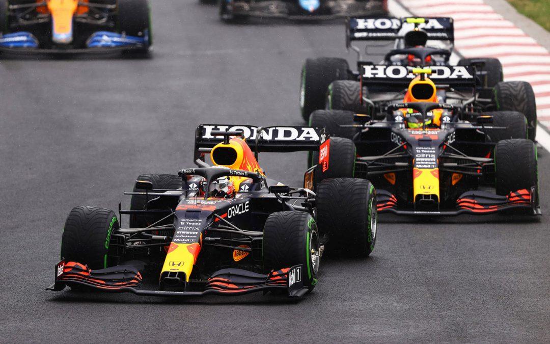 Red Bull haalt dit weekend Honda-logo's van livery